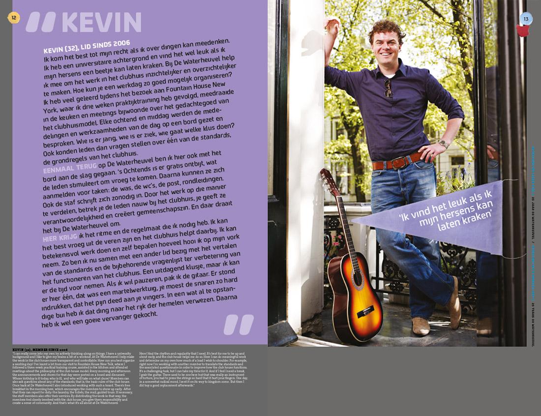 Interview Kevin Foto: Merlijn Doomernik