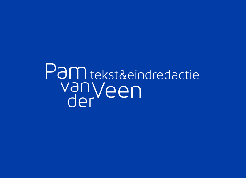 Logo Pam van der Veen
