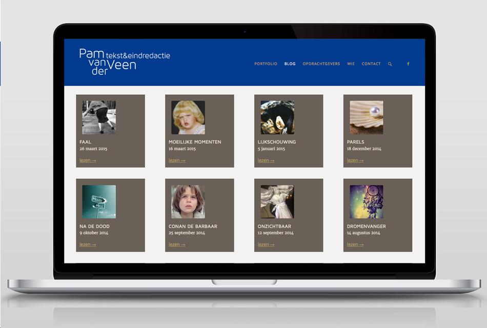 website Pam van der Veen