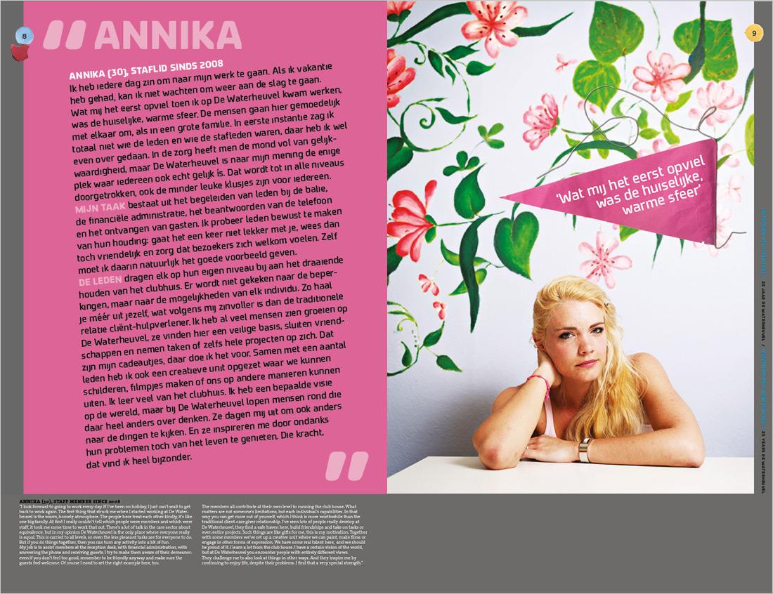 Interview Annika Foto: Merlijn Doomernik