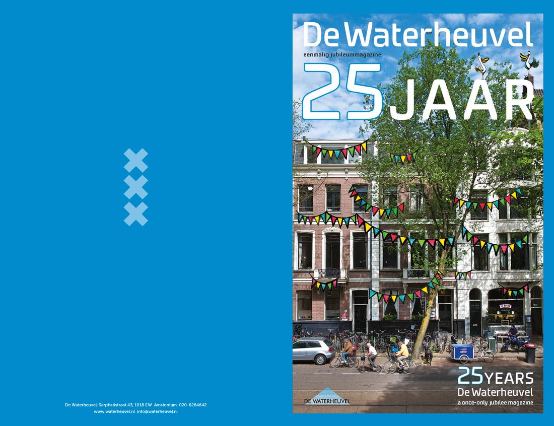 'De Waterheuvel 25 jaar' Foto: Gerrit Serné Droedels: Argibald